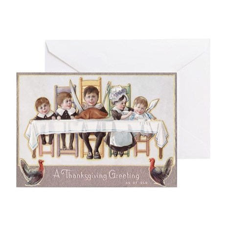 Vintage Thanksgiving Greeting Card