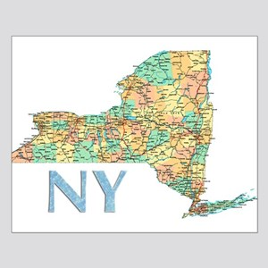 Map of New York State 7 Posters
