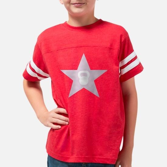 PUNCH STAR-pink Youth Football Shirt