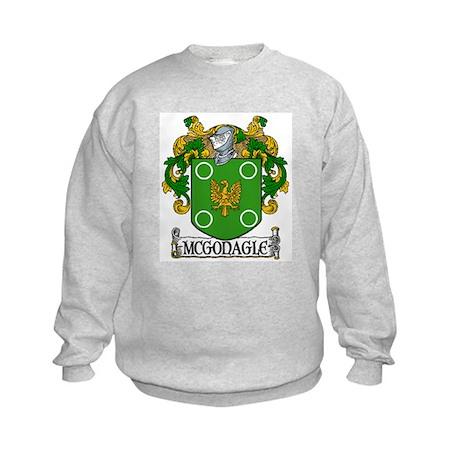 McGonagle Coat of Arms Kids Sweatshirt