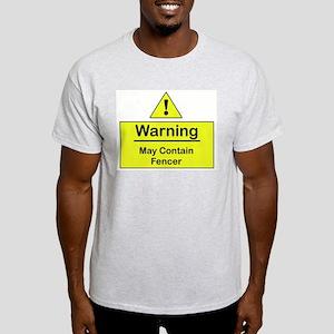 Warning -  Ash Grey T-Shirt