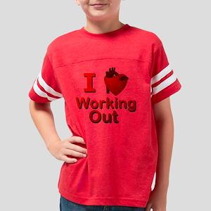 trueheart_workingout Youth Football Shirt