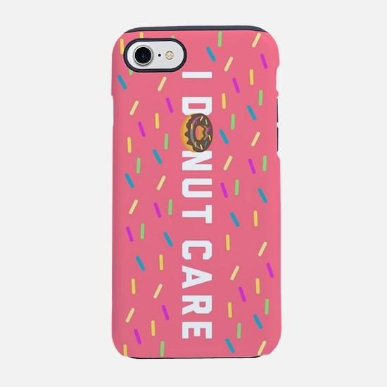I Donut Care Emoji iPhone 7 Tough Case