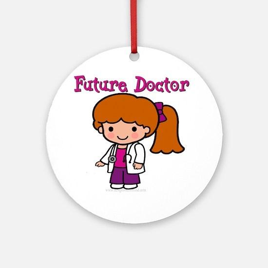 Future Doctor Ornament (Round)