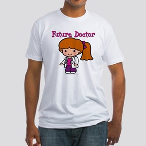 Future Doctor Fitted T-Shirt