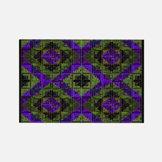 The Quilting Bee Rectangle Magnet
