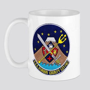 USS VERNON COUNTY 11 oz Ceramic Mug
