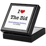 I (Heart) the 3ID Keepsake Box