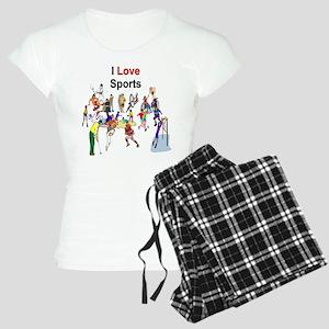 I Love sports 10 Pajamas