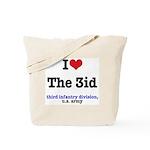 I (Heart) the 3id Tote Bag