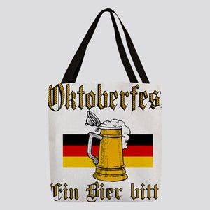 ein beer Polyester Tote Bag