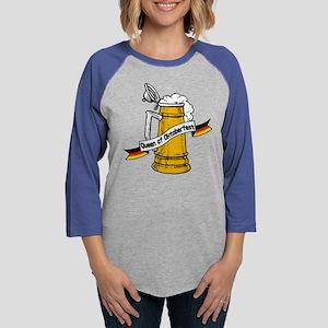 queen of okt Womens Baseball Tee