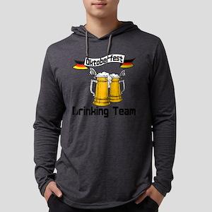 okt drinking teamt Mens Hooded Shirt