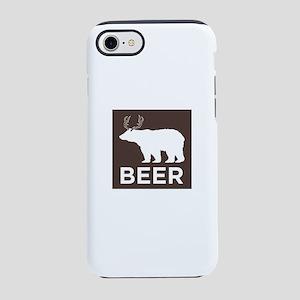 Beer Bear-Deer iPhone 7 Tough Case