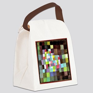 Abstraction with Reference to a F Canvas Lunch Bag