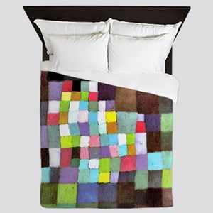 Abstraction with Reference to a Flower Queen Duvet
