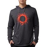 Solar Eclipse Mens Hooded Shirt