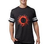 Solar Eclipse Mens Football Shirt