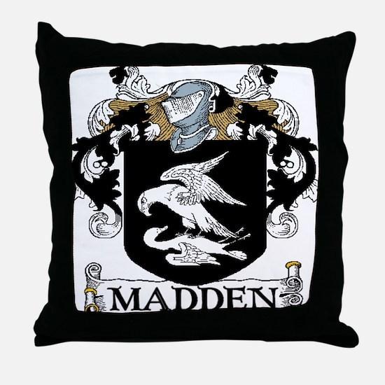 Madden Coat of Arms Throw Pillow