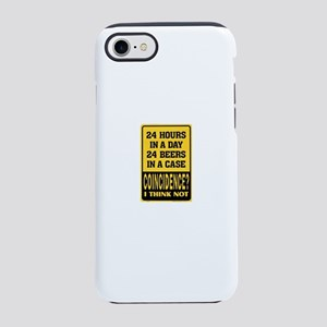 24 Hour Beer iPhone 7 Tough Case