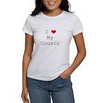 I Heart My Cousin Women's T-Shirt
