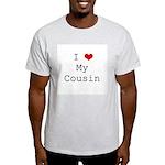 I Heart My Cousin Light T-Shirt