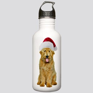Goldendoodle Santa Stainless Water Bottle 1.0L