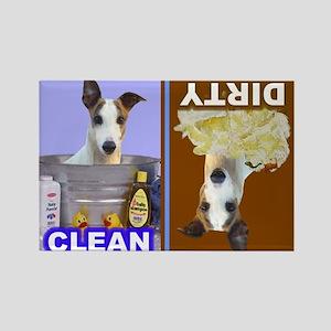 Dishwasher -RecMag -Greyhound,WhFawn Magnets