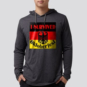 survived octoberfest Mens Hooded Shirt
