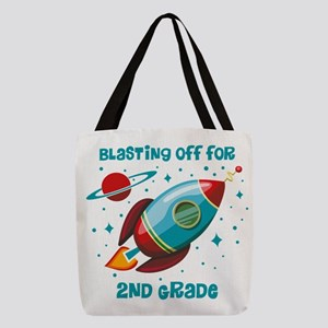 Blast Off For 2nd Grade Polyester Tote Bag