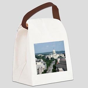 Capitol Building Canvas Lunch Bag