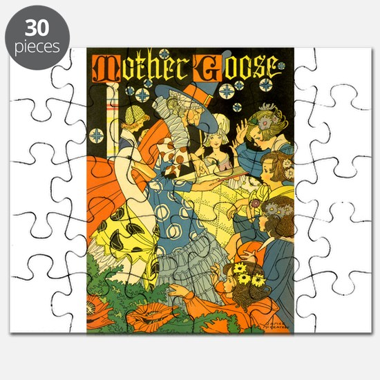 Vintage Mother Goose Puzzle