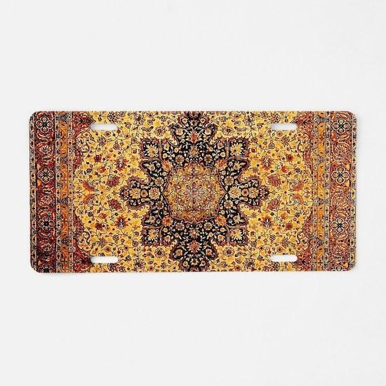 Persian Carpet Oriental Rug Pattern Aluminum Licen