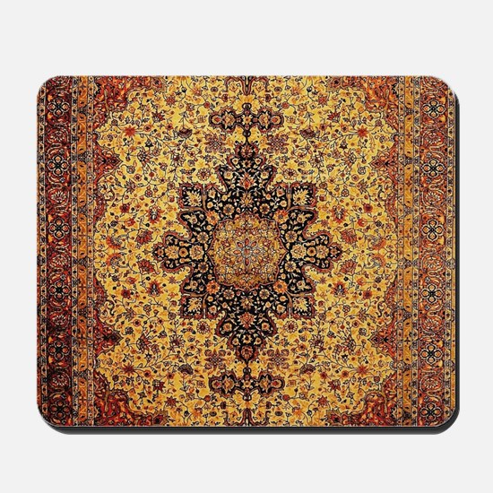 Persian Carpet Oriental Rug Pattern Mousepad
