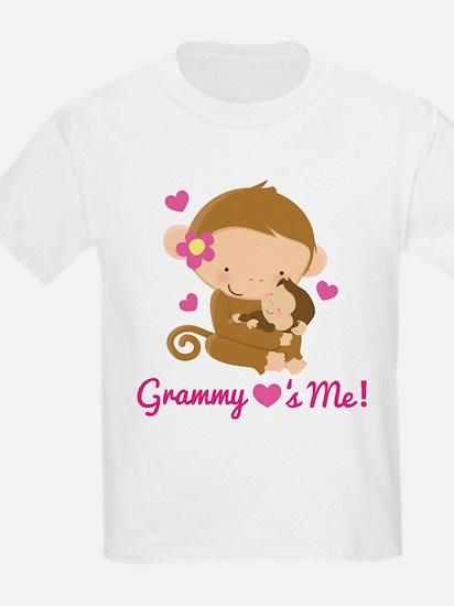 Grammy Loves Me monkey T-Shirt