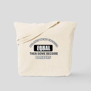 Cool Barbers designs Tote Bag