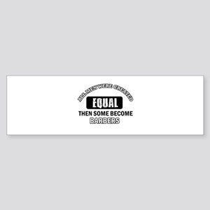 Cool Barbers designs Sticker (Bumper)