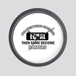 Cool Barbers designs Wall Clock