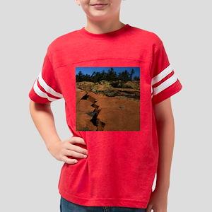 Cracked Rocks Youth Football Shirt