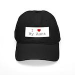 I Heart My Aunt Black Cap