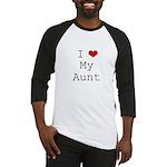 I Heart My Aunt Baseball Jersey