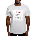 I Heart My Aunt Light T-Shirt