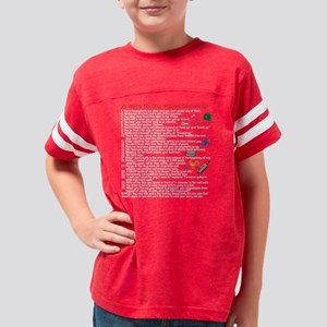 25ways_black Youth Football Shirt