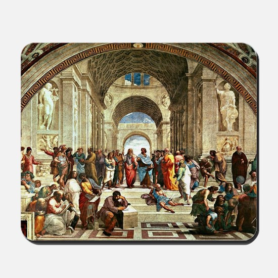 Raphael - School of Athens showing Dioge Mousepad