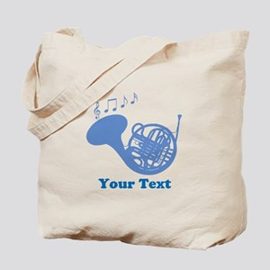 French Horn Customized Tote Bag