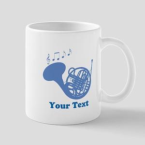 French Horn Customized 11 oz Ceramic Mug