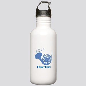 French Horn Customized Stainless Water Bottle 1.0L