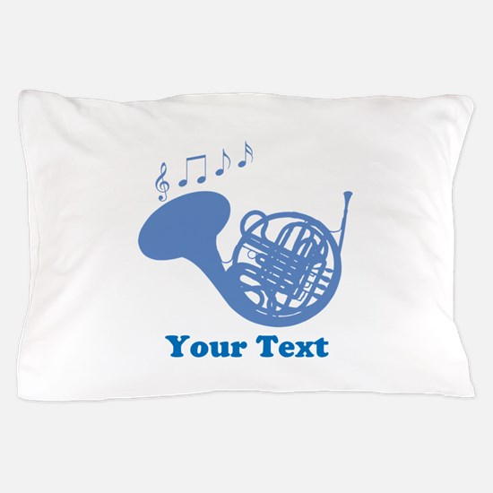 French Horn Customized Pillow Case