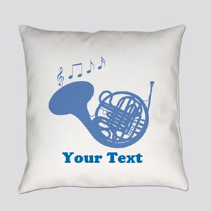 French Horn Customized Everyday Pillow