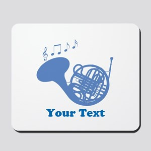 French Horn Customized Mousepad